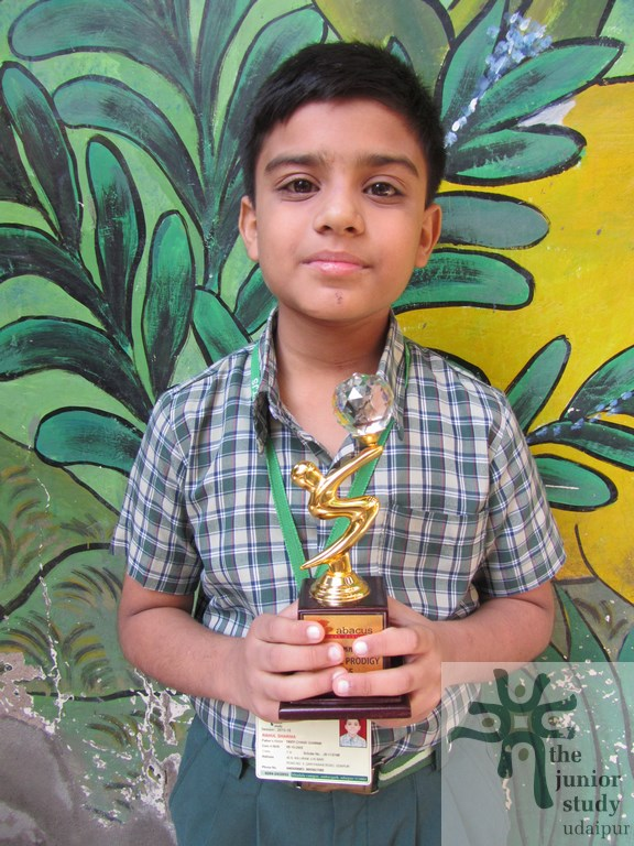 Winners of Annual Abacus Competition